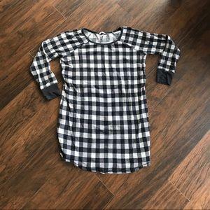 Victoria's Secret Checkered Sleep Shirt